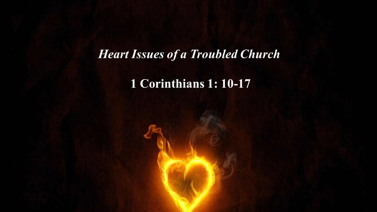 Heart Issues of a Troubled Church